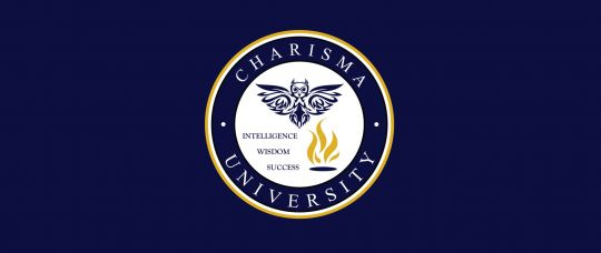 Charisma University Logo Splash
