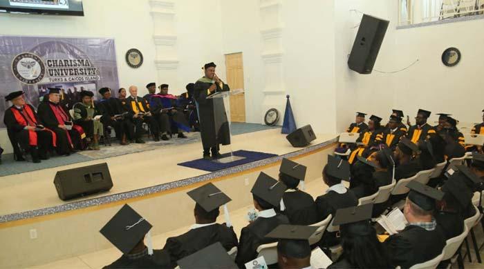 Charisma University Graduation